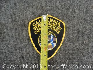 California Department Of Corrections Patch Eureka
