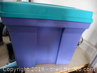Plastic Storage Box Latch broke