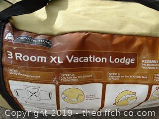 3 Room XL Vacation Lodge