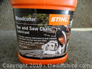Stihl  Bar and Saw Chain Lubricant  almost full
