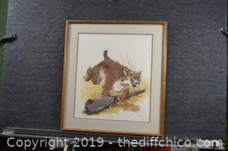 Framed Signed and Numbered Print - 88/2000