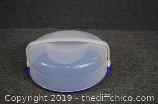 Tupperware Pie Carrier