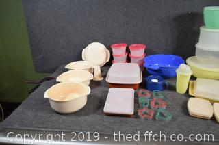 Tupperware Containers and More