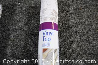 5 Rolls of Vinyl Top Liner