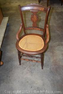 Vintage Walnut Chair