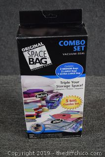 New Box of Space Bags