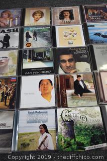 35 CD's
