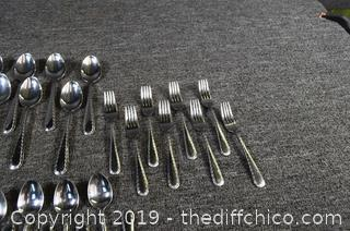 Service for 8 Flatware