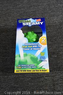 Mister Steamy Dryer Ball