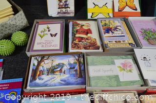 Cards, Stickers, Writing Paper/Envelopes and More