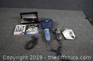 3 Electric Razors and More
