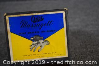Working Vintage Massager