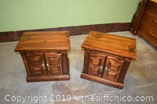 Pair of Night Stands