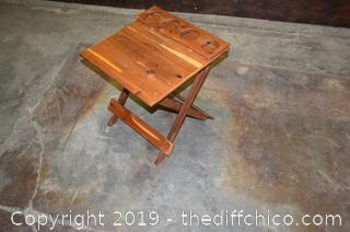 Folding Patio Table