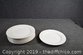 7 Gibson Dinner Plates