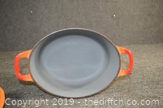 Orange Belgium Cast Iron Cookware