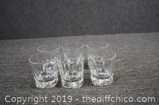 6 Cocktail Time Glasses
