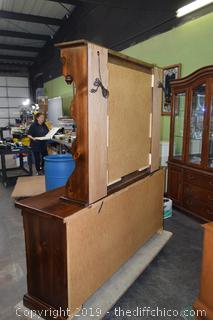 2 Piece Dresser w/Mirror Top