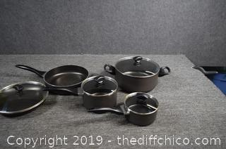 Faberware Pots, Pans w/Lids