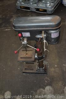 Working Drill Press