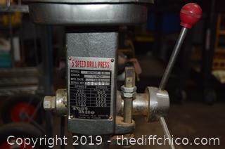 Working Drill Press