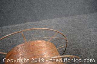 Reel of Steel Wire