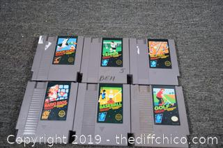 6 Nintendo Games