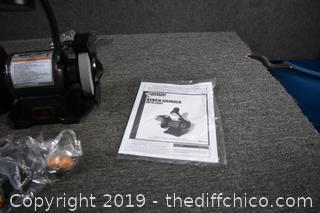 New Bench Grinder w/Light