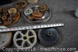 Pulley and Metal Box