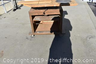 Working Craftsman 12in Radial Arm Saw w/base-220 power required