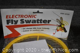 3 NIB Electronic Fly Swatters