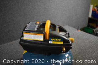 New TNT 3 Gal Oil-less Air Compressor