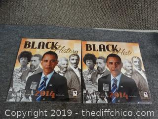 Black History Calendars 2014