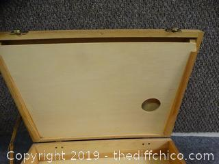 Wood Carrying Case