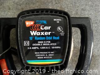"Car Waxer 10"" works"