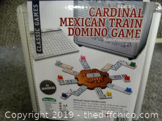 New Cardinal Mexican Train Domino Game