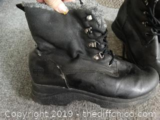 Totes Boots Size 9