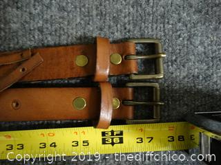 Genuine Leather Belt S/M