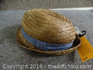 New Straw Hat  NWT