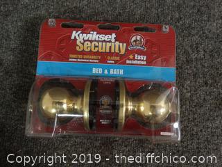 New Door Knob with key