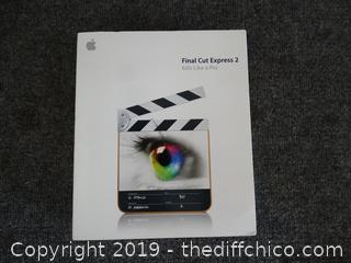 Apple Final Cut Express 2 NIB