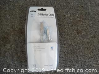 New 6ft USB  Device Cable