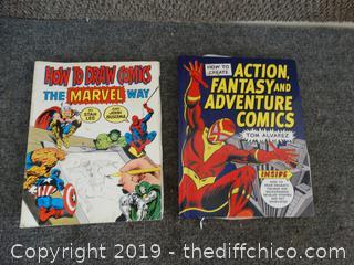 Comic Book & Comic Drawing Book