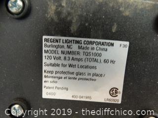 Adjustable Work Light wks 1 needs bulb