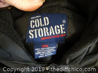 New Cold Storage Coat 2xl