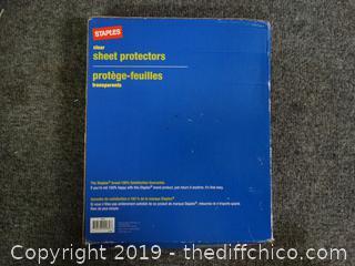 Clear Sheet Potectors
