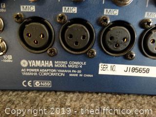 Yamaha  Mixing Console  MG 12/4