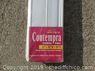 Contempra Folding Door NIB