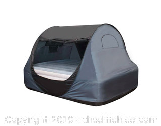 WINTERIAL POP-UP INDOOR PRIVACY BED TENT - TWIN (J8)