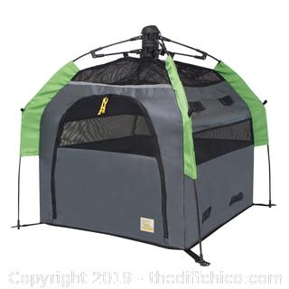 Frontpet Portable Pet Tent with Quick Setup Technology for Outdoors and Travel - Large (J9)